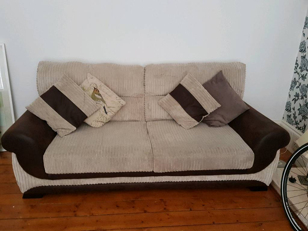 2 + 3 seater sofa. Great condition, foam seats and back rests