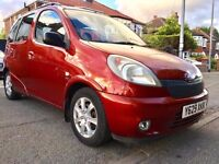 2001 TOYOTA YARIS VERSO GLS 1.3 AUTOMATIC,50000 LOW MILES,FULL SERVICE HISTORY,MOT MAY2018,HPI CLEAR