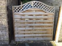 FENCE PANEL FOR SALE £15. TO BE COLLECTED FROM NARBOROUGH, LEICESTER, LEICESTERSHIRE