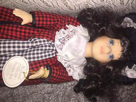 Porcelain doll 16""