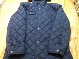 Boys Ralph Lauren Quilted Coat - aged 12-14 years.