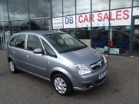 VAUXHALL MERIVA 1.6 CLUB 16V 5d 100 BHP**** GUARANTEED FINANCE **** PART EX WELCOME ****