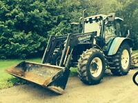 Newholland TS100 4 wheel drive with cab