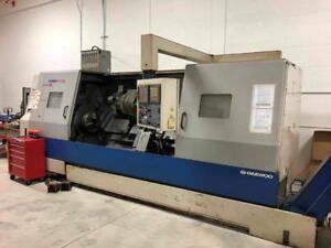 "Daewoo Puma 400LB 15"" Chuck X 83"" Length CNC Turning Center"