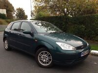 2002 Ford Focus 1.6i 16v LX 5dr Cheap to run and insure runs and drives good