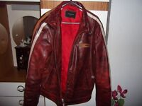 Leather jacket New YORK