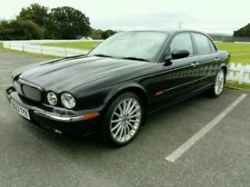 Jaguar XJR 4.2L V8 supercharged black saloon