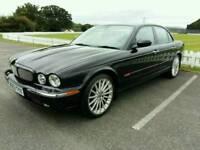 Jaguar XJR 4.2L V8 supercharged black saloon