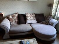 Corner sofa and arm chair for sale