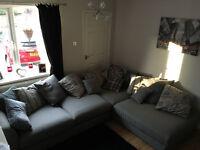Left Arm Facing Large Corner Group - DFS Nest Sofa