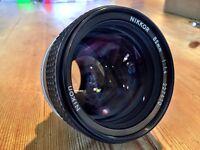 Nikon Nikkor 85mm f1.4 AI-s Lens