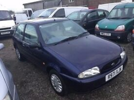 FORD FIESTA 46000 MILES GENUINE FULL SERVICE HISTORY IN SUPERB CONDITION IDEAL FIRST CAR 1YEARS MOT