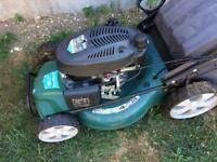 Petrol lawnmower self drive and collector 173cc