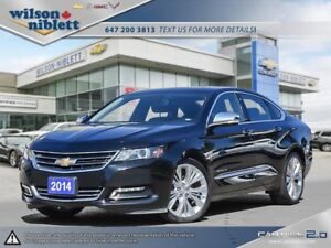 2014 Chevrolet Impala 2LZ LEASE RETURN, ACCIDENT FREE