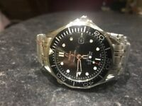 Choice of Omega Seamasters Available swiss editions