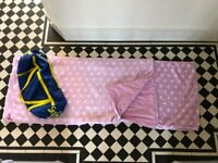 Pink Polka Dot Snuggle Sac in Excellent Condition £5