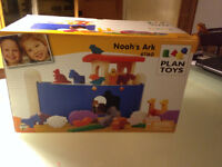 Plan Toys beautiful wooden Noah's Ark - new and unused