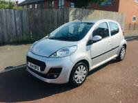 Peugeot 107 Active petrol year 2014 mileage 44000