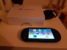 PS VITA Console - PCH-2016 - with 8GB Memory Card - Like new condition