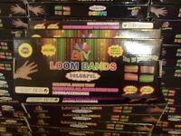 380 packs of loom band start kits brand new