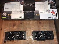 EVGA GeForce GTX 970 SC GAMING ACX 2.0 Graphics card x2