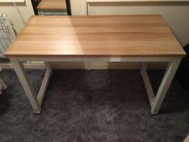 Wooden Desk Workstation for Home Office