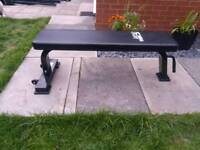 Weight bench heavy duty on wheels