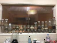 GLASS JAR different sizes Camden