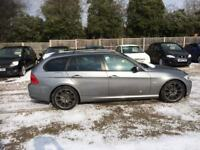 2008 [58] BMW ESTATE 2.0 DIESEL 6 SPEED FSH 174BHP