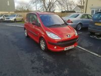 peugeot 1007 1.4 hdi dolice 2006 ...cheap tax , cheap car ..50 plus mpg bargain