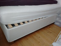 Ikea double bed with storage