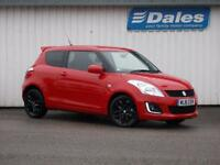 Suzuki Swift 1.2 Sz-l [nav] 3Dr Hatchback (bright red) 2016