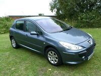 2007(56) PEUGOET 307 1.6 HDI 5 DR MOT OCT 16 S/HISTORY PX TO CLEAR CHEAP RUN ABOUT