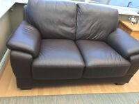 2 Seater Leather Sofa. Very good condition