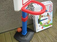 Little Tikes Junior Basket ball net - immaculate condition