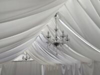 *GARDEN MARQUEE HIRE*Including Heating,Lights,Flooring,Table & Chairs, Premium Service, Tent, Gazebo