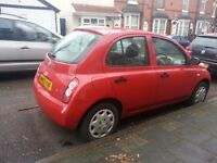 2003 Nissan Micra Red 1.0L