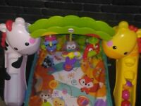 Fisher-Price Newborn-to-Toddler Play Gym Great condition, Like brand new BARGAIN!!!