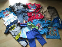 SELECTION OF BOYS CLOTHES (REDUCED PRICE) (31 ITEMS)
