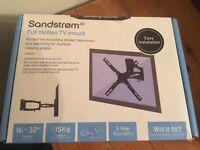 @VERSATILE TV WALL BRACKET BRAND NEW AND SEALED BOX@