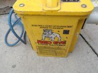 building site 110 volt transformer red eye power solutions 3.3 kva