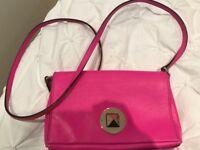 Kate-Spade-Brightspot-Avenue-Sally-Crossbody-Purse-Neon-pink-Leather