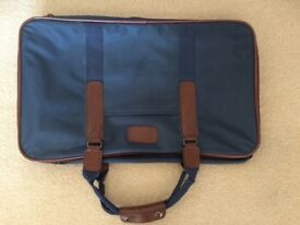 Small Navy Collapsible Suitcase for sale
