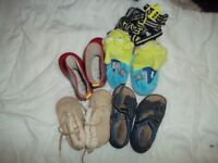 4 Pairs of Children Shoes Age 2-3 roughly a size 4