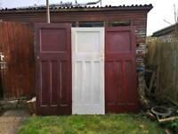 5 Edwardian doors