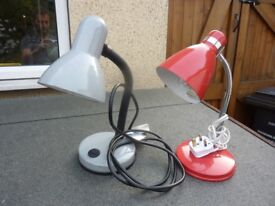 2x flexi table lights.