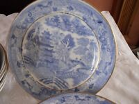 Blue Willow Dishes Plates etc