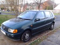Reasonably Priced 2000 VW Polo low mileage cheap to insure. Interior pics coming tomorrow