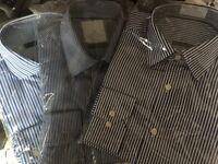 "3 x Mens New M&s Shirts 14.5"""