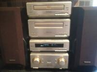 Technics mini Hifi separate stereo stack system